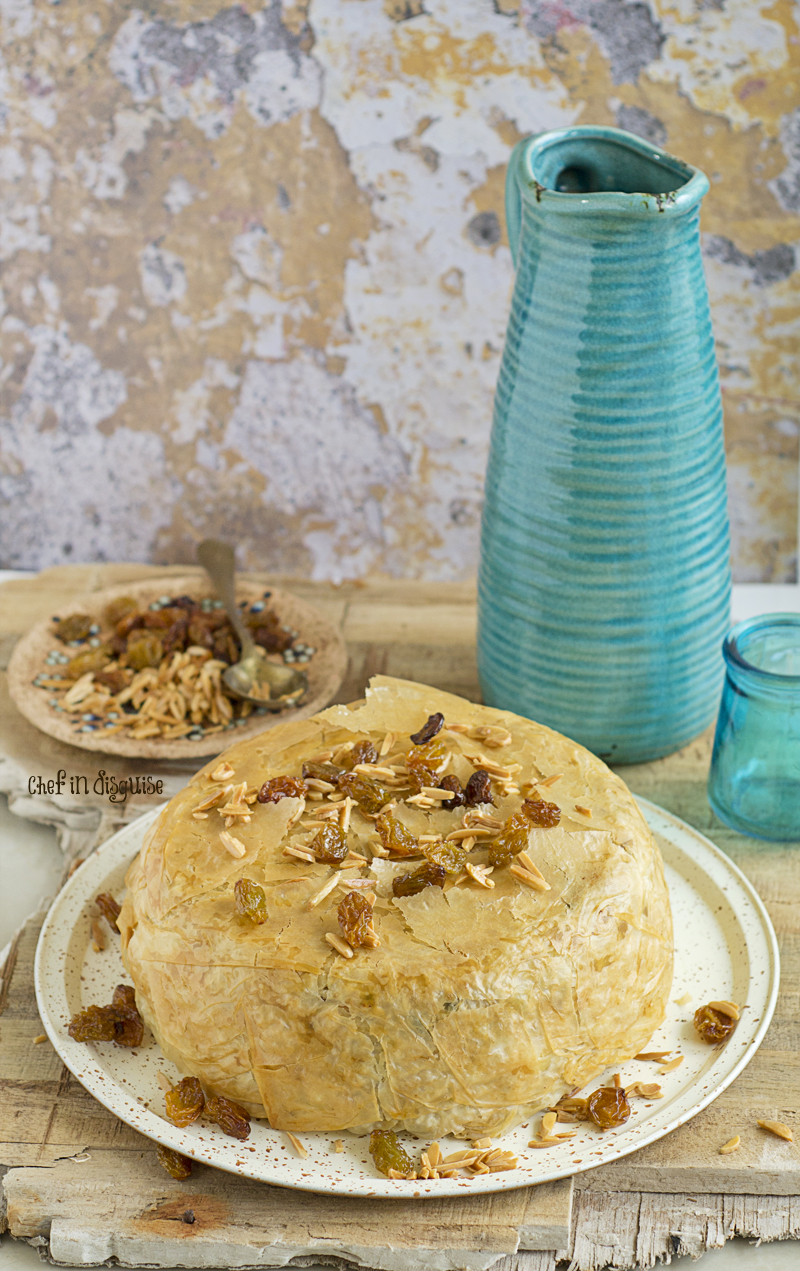 Parda plau Iraqi rice and fillo pastry dish that is baked to perfection.jpg