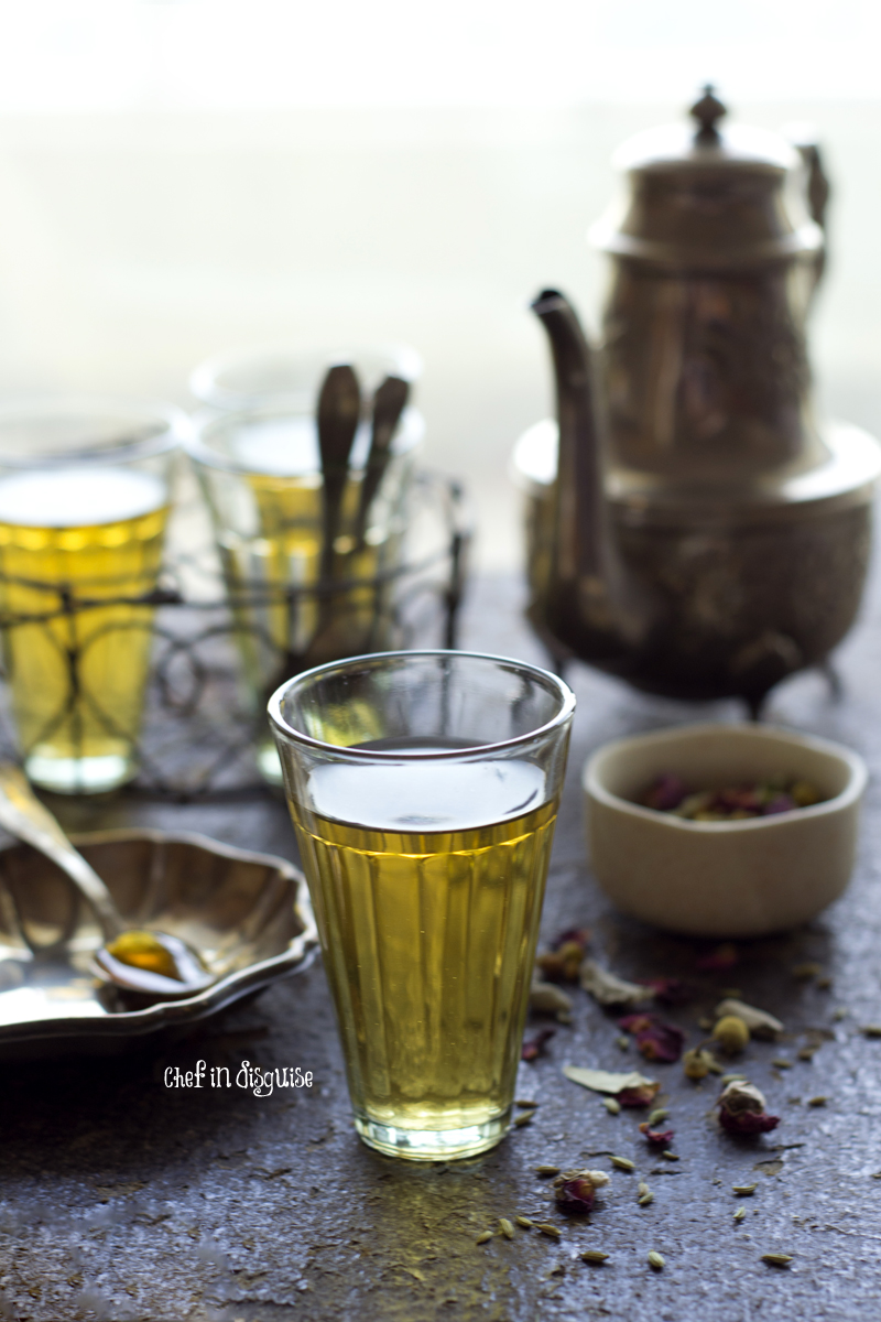 Zhorat, a warm and comforting middle eastern herb and flower blend tea