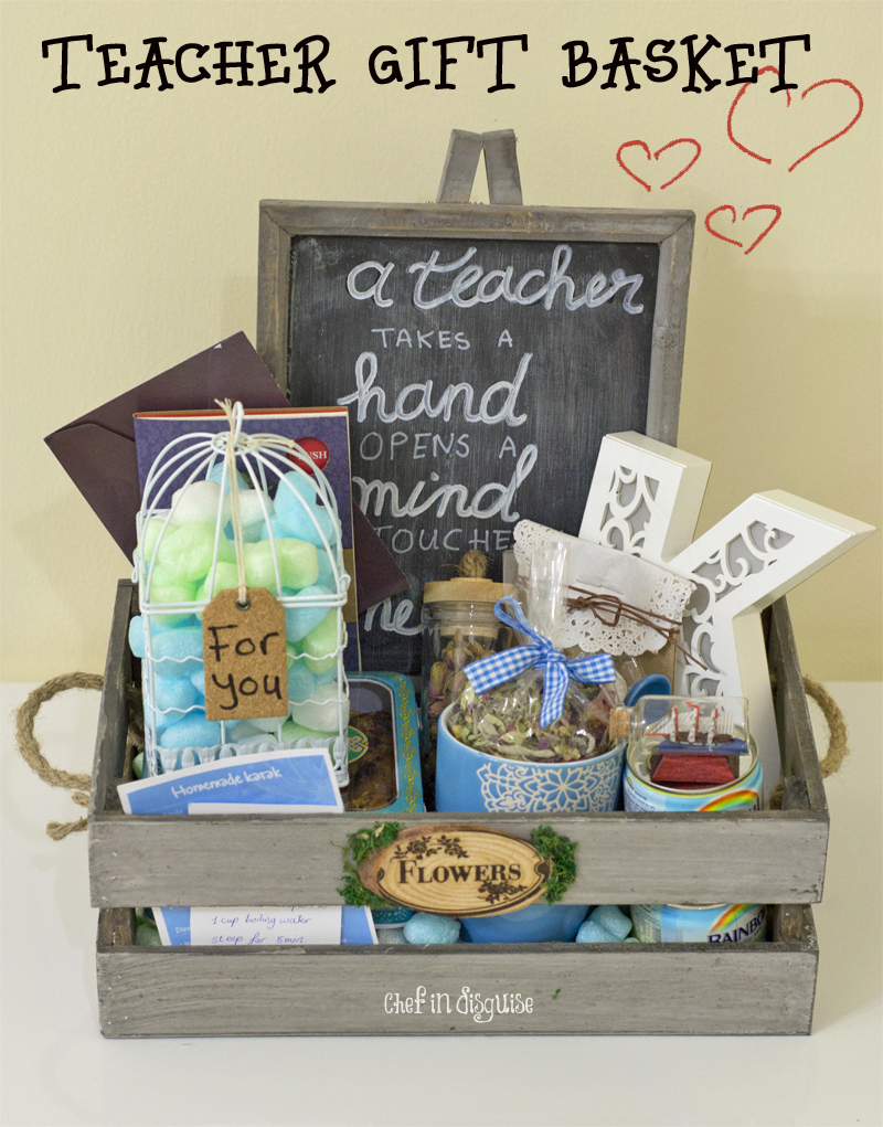 Diy Gift Basket Chef In Disguise
