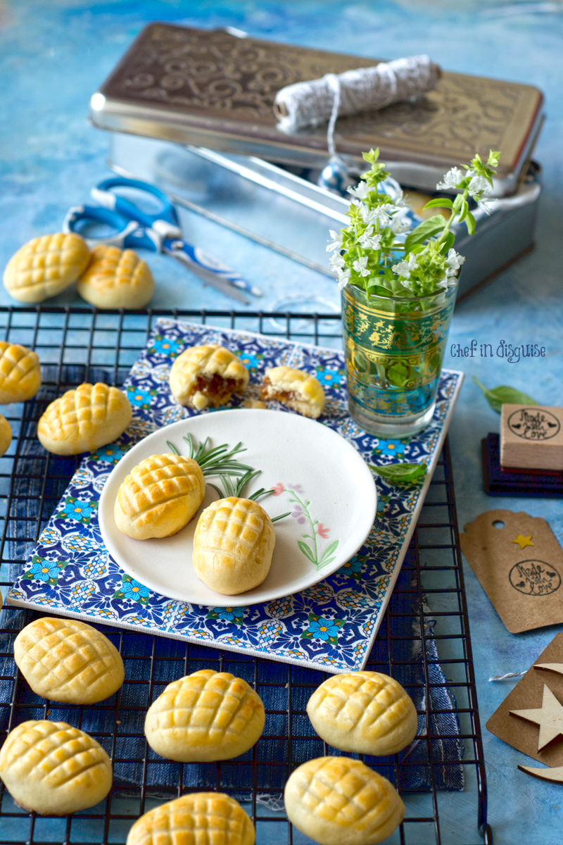 Malaysian pineapple cookies if you have never tried pinapple as a filling for shortbread cookies you don't know what you're missing out.jpg