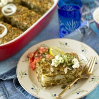 Cauliflower cake (baked mshat)