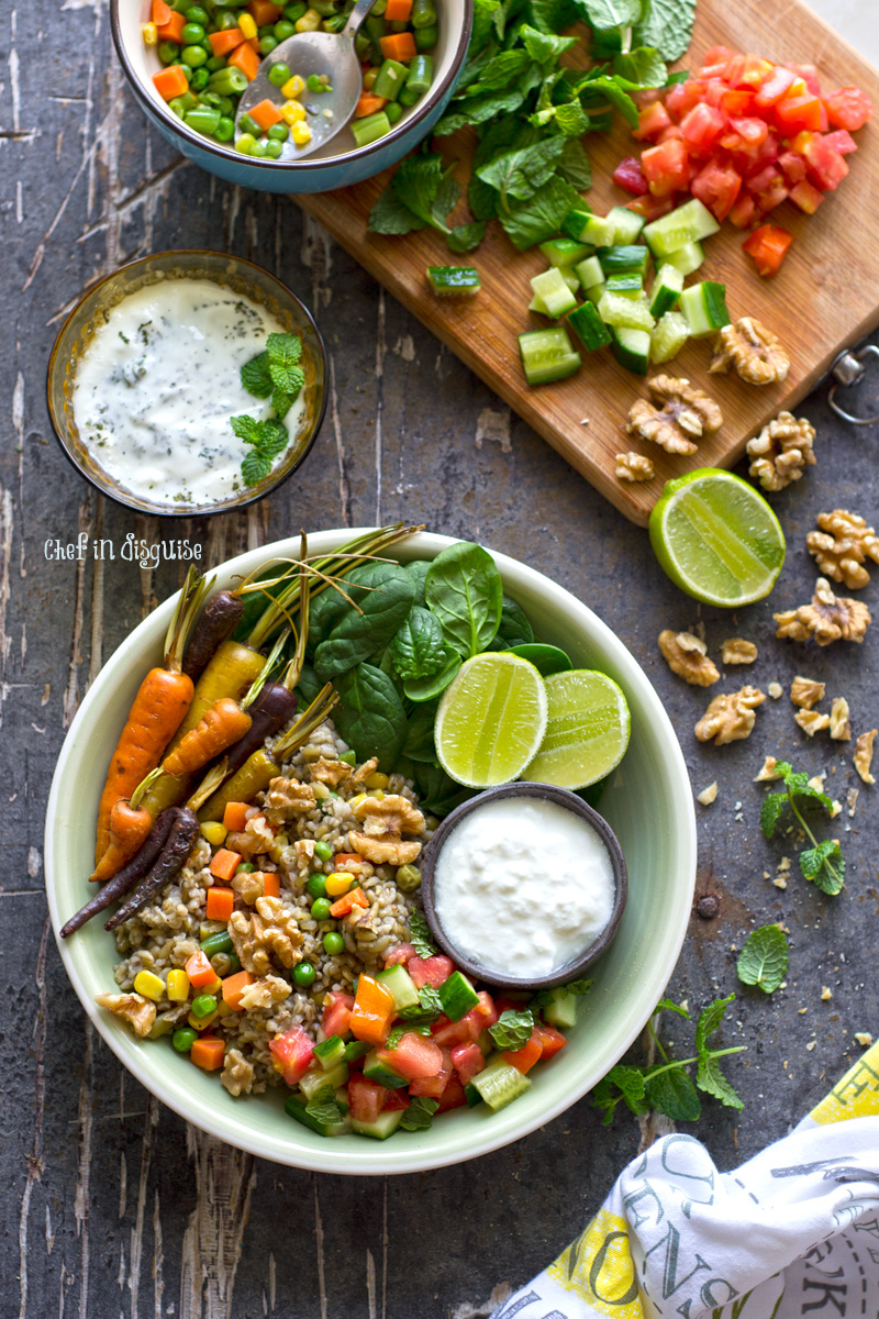 superfood buddha bowl with freekeh, walnuts and spinach.jpg