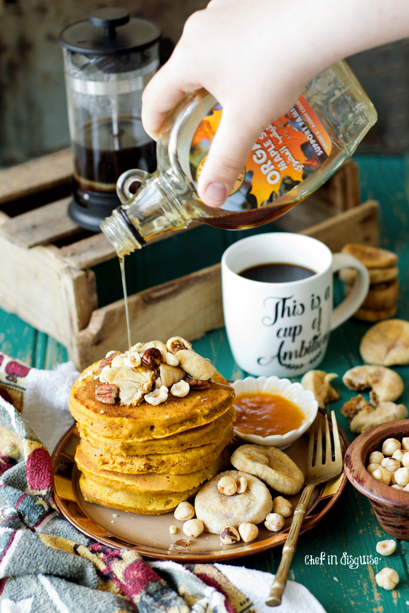 Pumpkin pancakes, fluffly, spicy and simply perfect.jpg