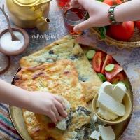 Palestinian zaatar fatayer