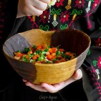 Palestinian farmer salad