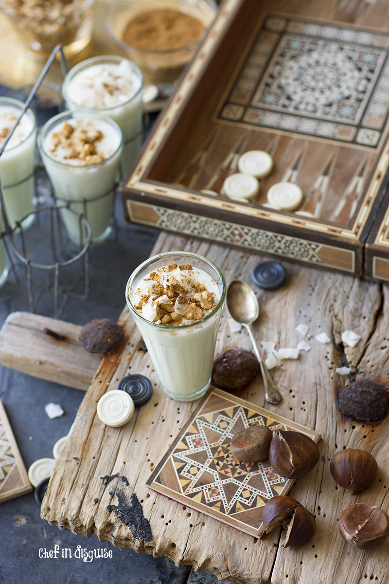 sahlab or salep a wonderful warm winter drink from the Middle east