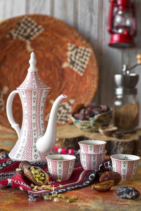 Blond coffee or Arabic Saudi coffee, a must in Ramadan