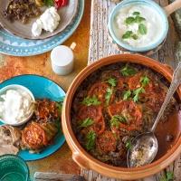 Eggplant casserole (mnazalet betinjan )
