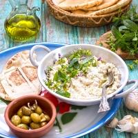 Mutawam kusa (Palestinian zucchini dip)