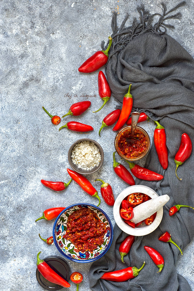 Shatta Homemade Middle Eastern Chili Paste Chef In Disguise