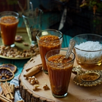 iner (Qirfeh bil goz) the ultimate cinnamon winter drink